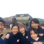 筑波山トレイルラン大会2017でスポーツアロマやりました!喜んでいただきました!