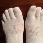 巻き爪、外反母趾、内反小趾、浮き指、扁平足、足底筋膜炎、ハンマートゥ すべて無し!ビブラムファイブフィンガーズに感謝